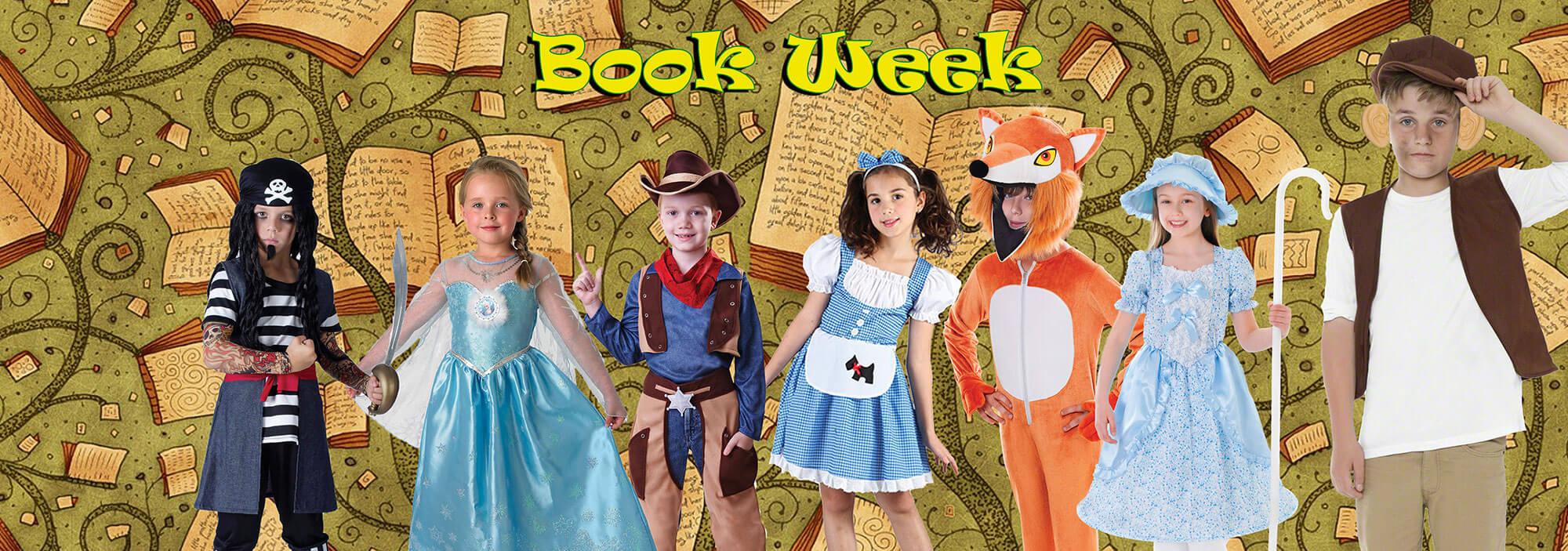 Childrens Bookweek Book Day Fancy Dress Ideas