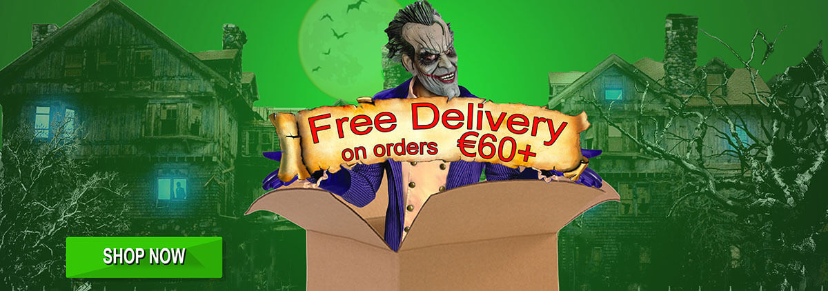 Free delivery with orders over €60 !