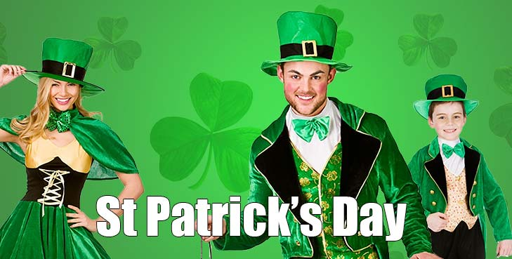 Saint Patrick's Day, Leprechauns hats and all things green!