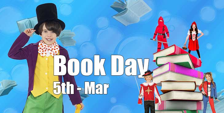 World Book Day Costumes 5th Mar 2020