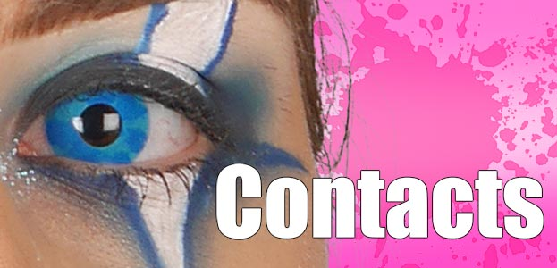 Natural - Halloween - UV Contacts
