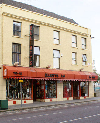 Elliotts Fancy Dress Shop Front
