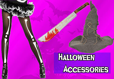 Make your costume Stand Out with 500 Halloween Accessories to choose from!