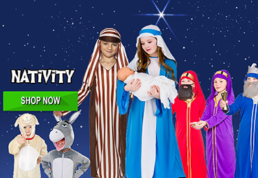 Great Value Quality Nativity Costumes and Accessories - perfect to kit out any Manger!