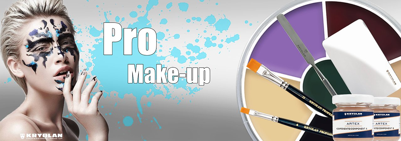 Kryolan Professional Quality Make Up for Stage TV Youtube & Instagram